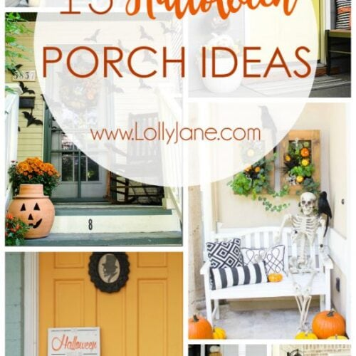13 Halloween Porch Ideas