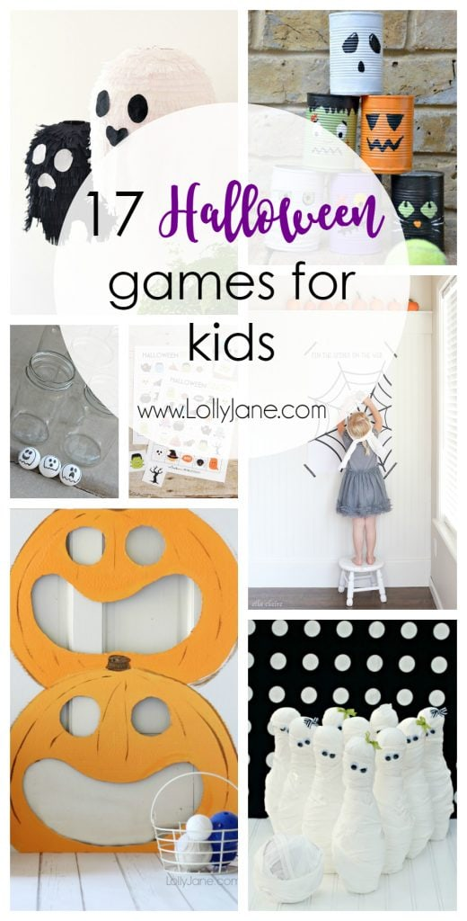 17 Halloween Games for Kids