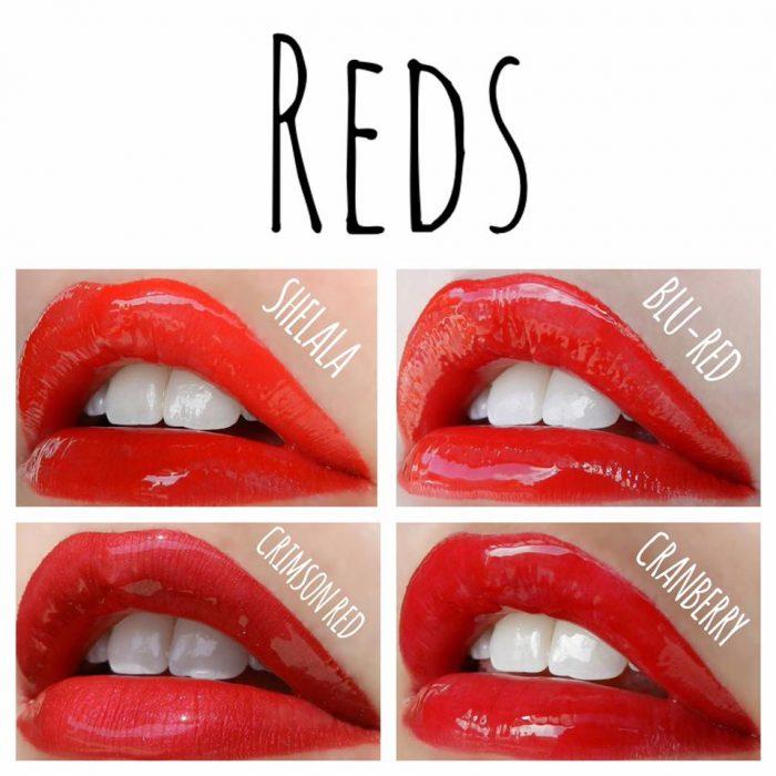 LipSense Color Chart - Lipsense red lipstain | Lolly Lips