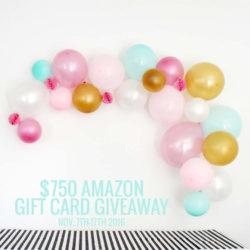 Black Friday giveaway: $750 Amazon GC!!