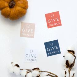 Give Thanks | free printables