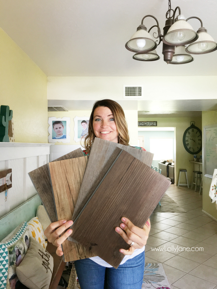 Ordering flooring online is easier than you think! This is an affordable option you can do without having to leave your home!