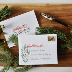 Free Printable Thank You Cards #LightTheWorld