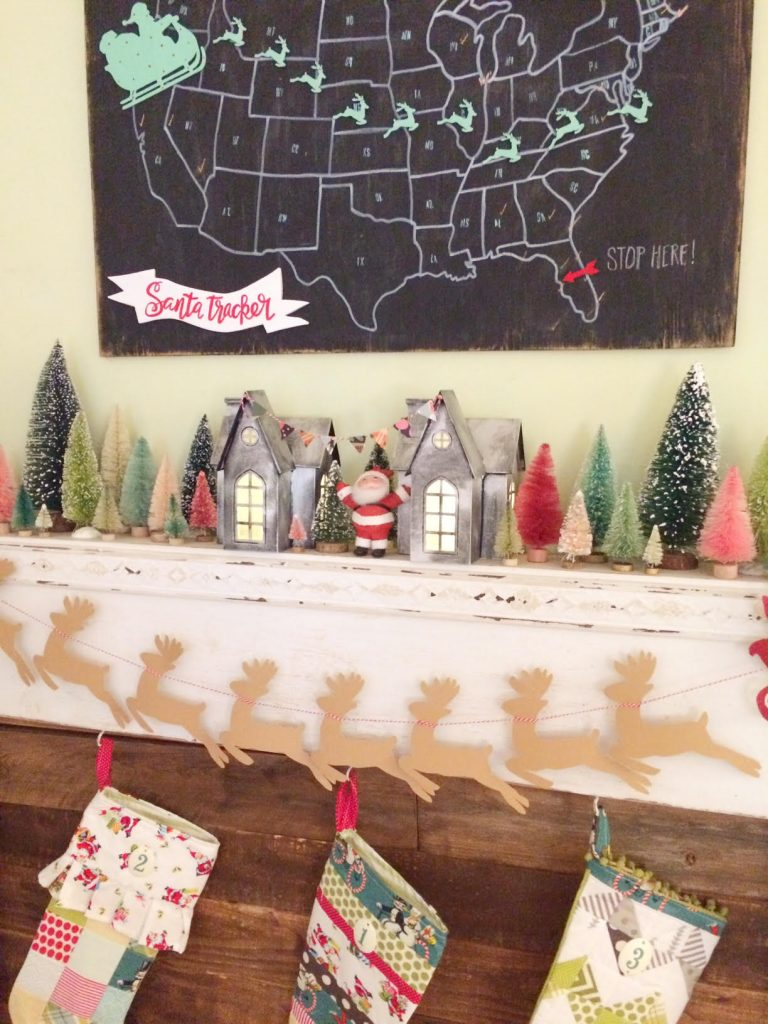 DIY Zinc Christmas Village Houses tutorial, so darn cute! I can't wait to make these!!