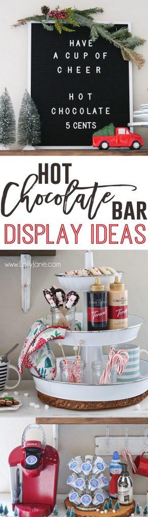 Hot Chocolate Bar Ideas with Keurig