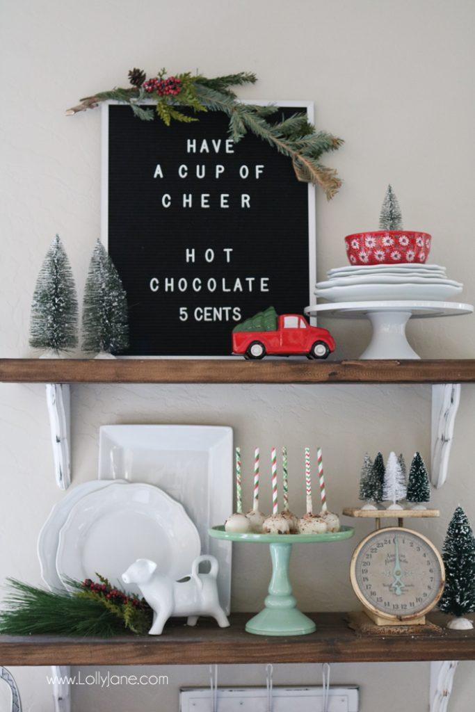 Hot Chocolate Bar Ideas, cute!!