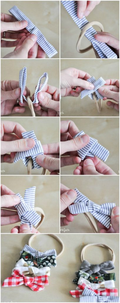 How to make headband bows for babies