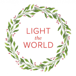 Free #LightTheWorld printable ideas