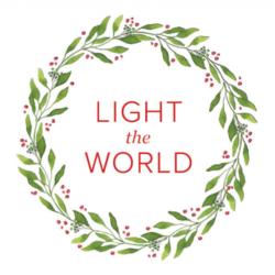 Free #LightTheWorld printable ideas