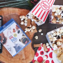easy popcorn snack treat mix
