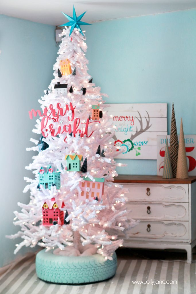 Top 21 Christmas Tree Stand Ideas - Lolly Jane DR31
