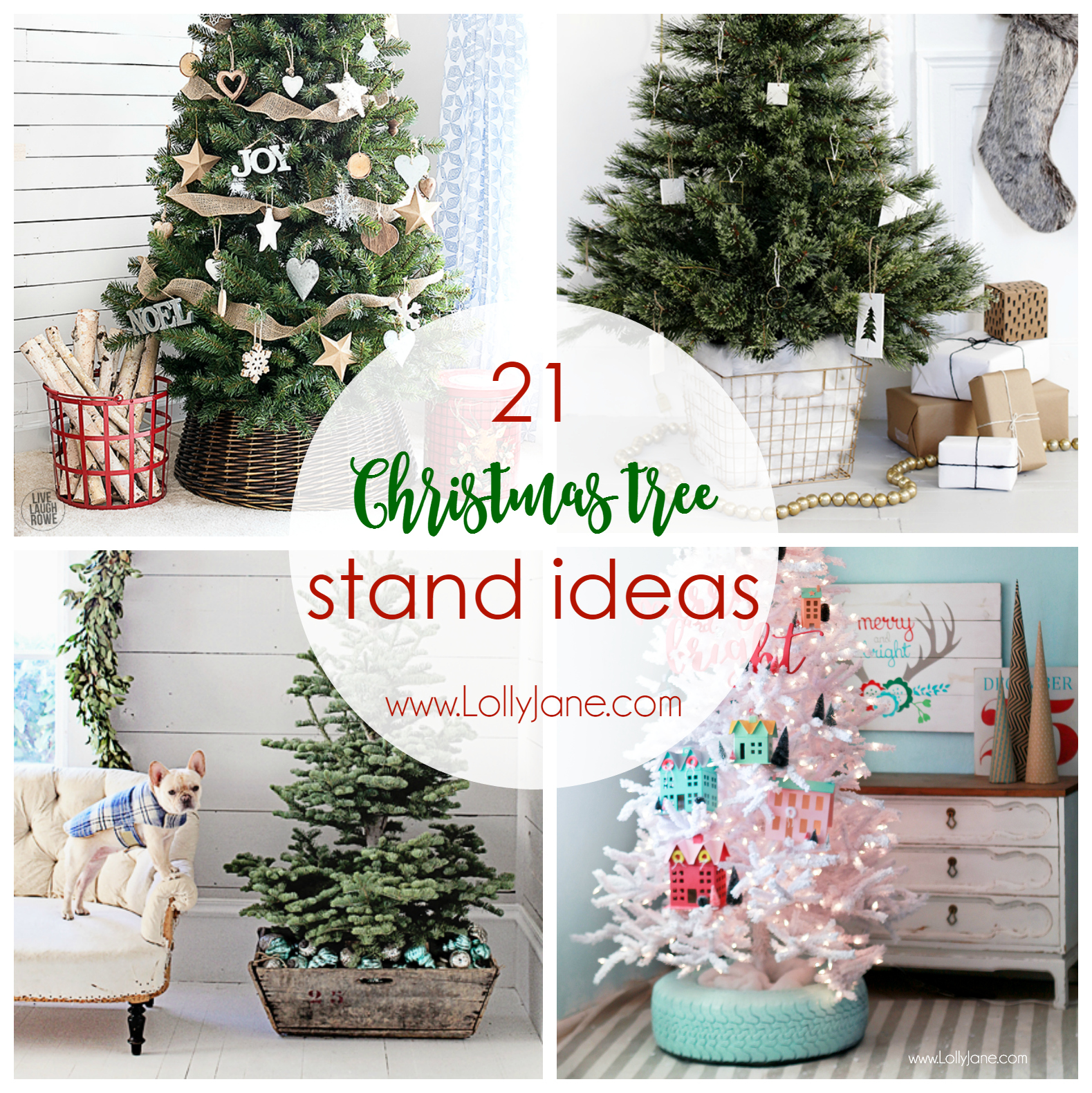 Christmas tree stand ideas lolly jane