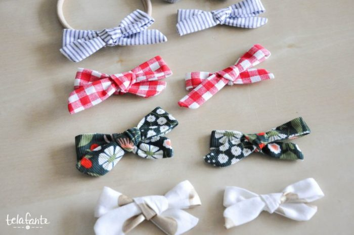 Get the EASY tutorial for the CUTE sew-it-yourself bows! Love them! Perfect for babies on headbands, little girls on clips, or on packages! So versatile, simple tutorial!