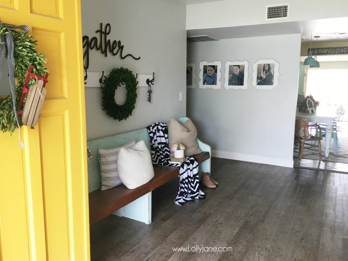 Love These Vinyl Floors From GoHaus They Look Great In My Farmhouse Style Home