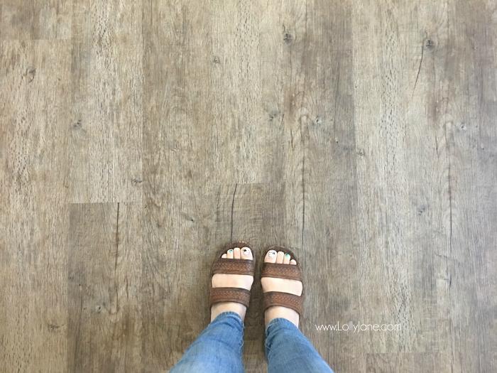 GoHaus vinyl plank flooring