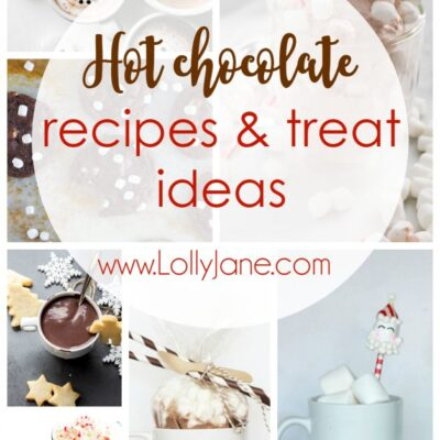 Hot Chocolate Recipes and Treat Ideas