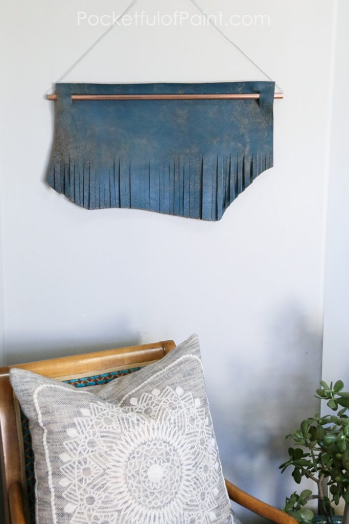 Diy Leather Wall Hanging Lolly Jane