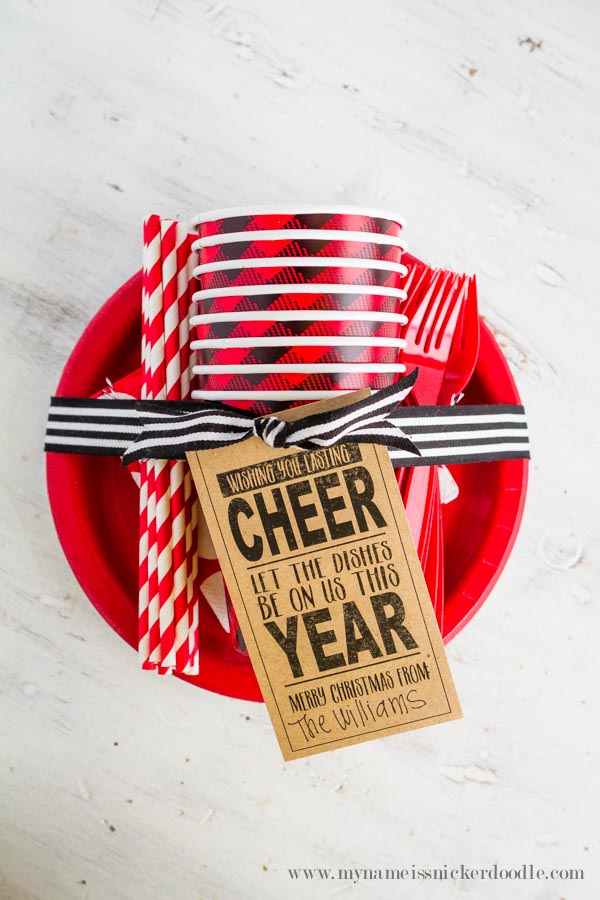 Love this non-food neighbor gift idea! via @mynameissnickerdoodle