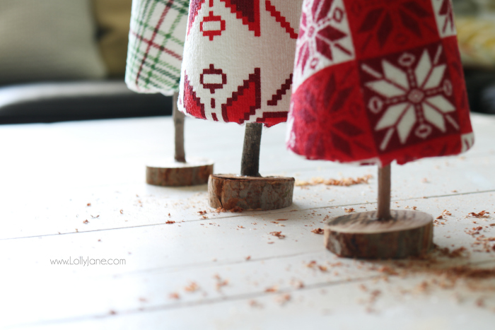 Diy Ugly Sweater Trees Craft