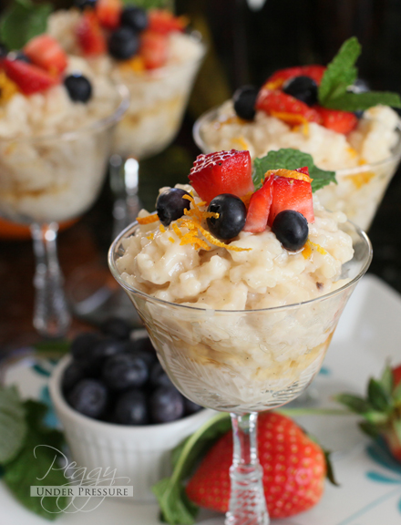Instant Pot Dessert Recipes - Coconut Rice Pudding