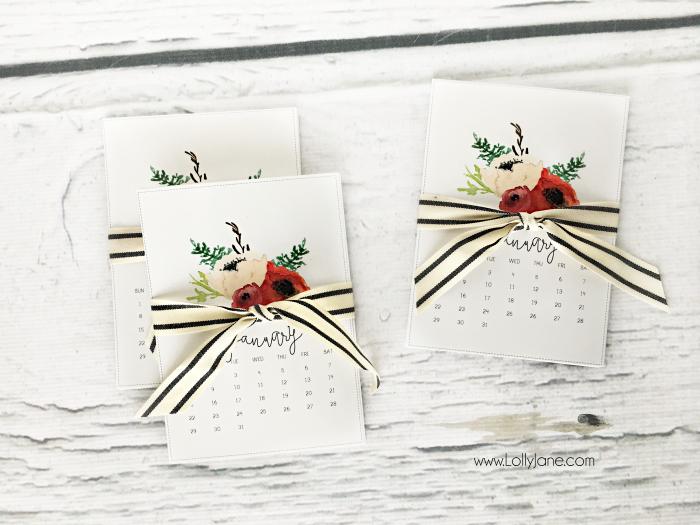 calendar gift idea