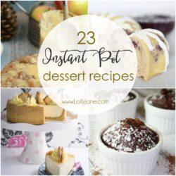 23 Instant Pot Dessert Recipes