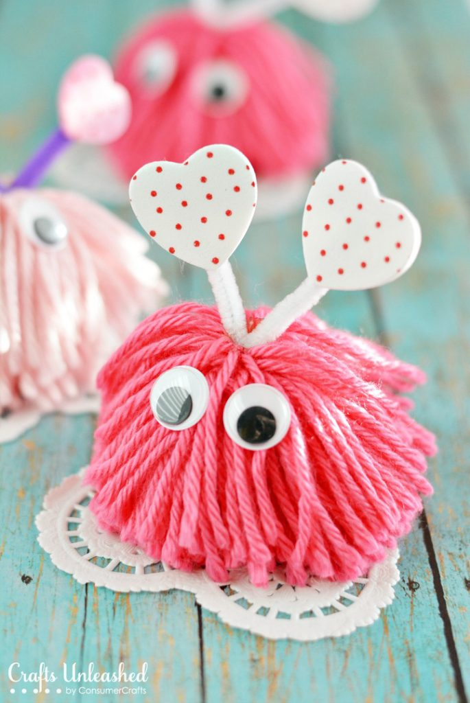 17 Valentine S Day Crafts For Kids Lolly Jane