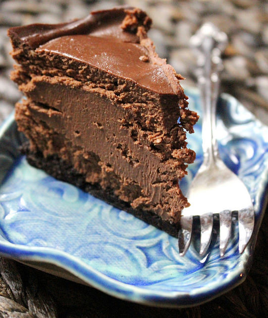 Instant Pot Dessert Recipes - Chocolate Cheesecake