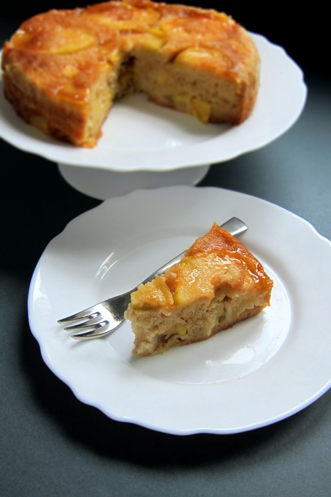 Instant Pot Dessert Recipes - upside down apple cake