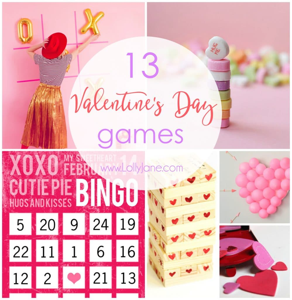 13 Valentine's Day Games - Lolly Jane