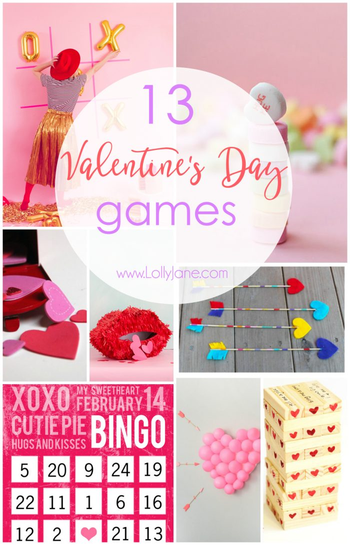 13 Valentine\'s Day Games - Lolly Jane
