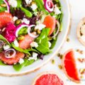 Citrus Pistachio Salad, the perfect balance of sweet and salty!