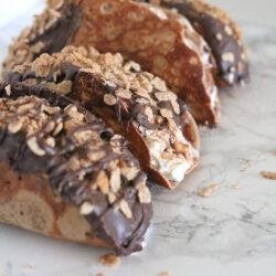Cinnamon Pebbles choco taco