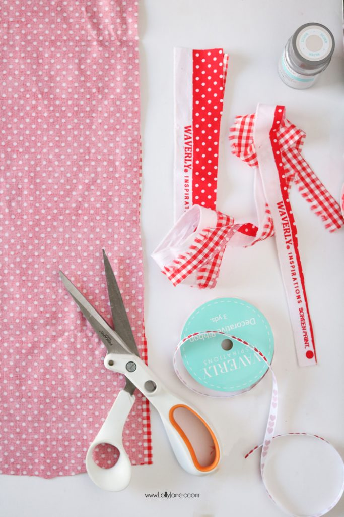 Fabric envelope sewing tutorial