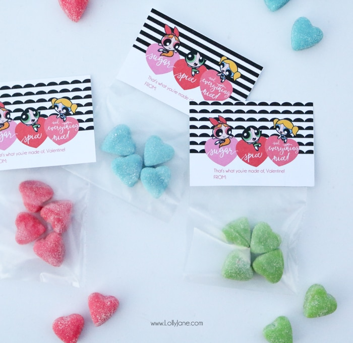 free printable powerpuff girls valentines