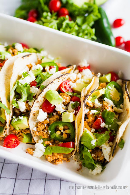 Skinny Tacos. So dang good and easy to make!