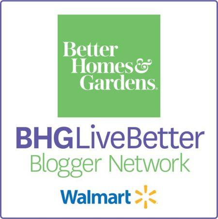 BHG Live Better Walmart Bloggers