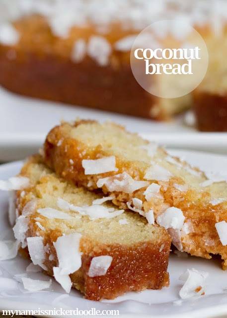 Coconut Bread, so yummy!