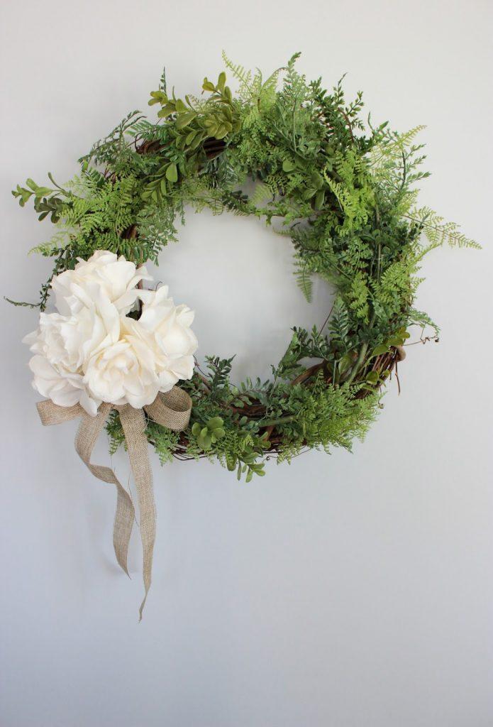 20 Pretty DIY Spring Wreaths