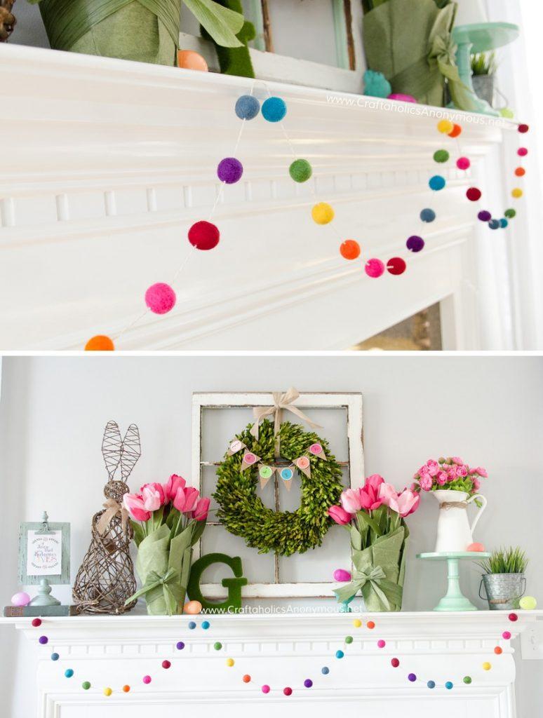 12 cute diy easter home decor ideas style motivation for Easter home decorations ideas