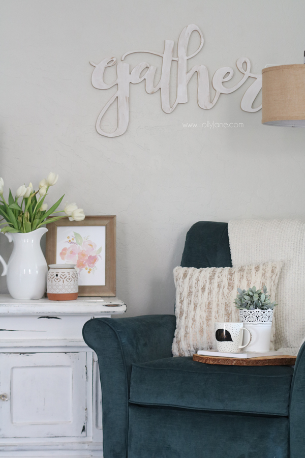 Easy Tips for Creating a Cozy Reading Nook in your Living or Family Room!