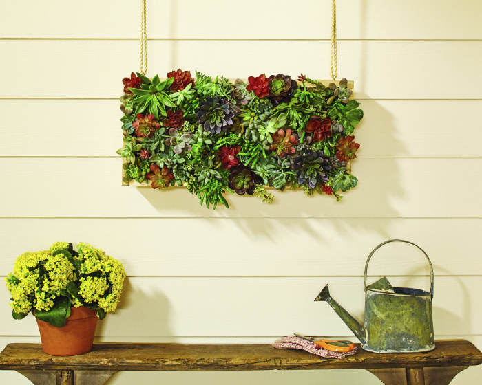 egister for the DIH Vertical Garden Succulent workshop at Home Depot! Learn how to build this gorgeous vertical succulent garden!
