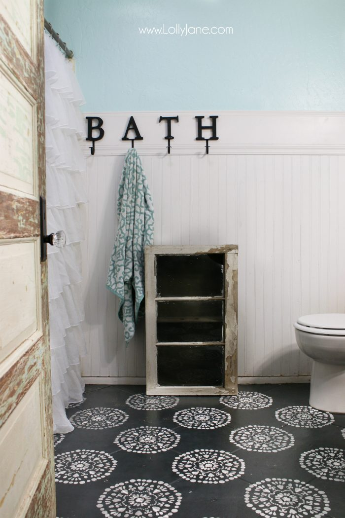 In love with this bathroom, all diy tips to copy this look without breaking the bank!