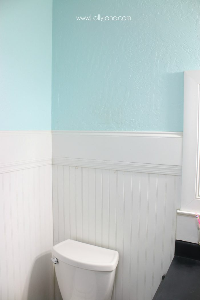 You're not going to believe the diy transformed this bathroom space!!