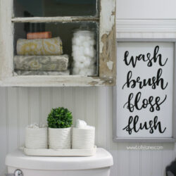 diy bathroom cabinet