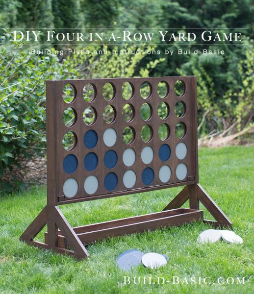10 Giant Yard Games You Can DIY