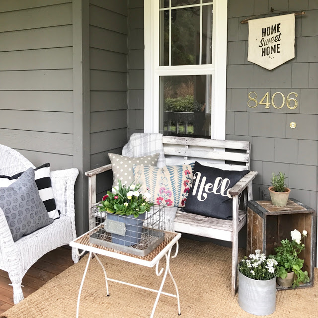 Farmhouse Front Porch Ideas: 11 Spring Front Porches