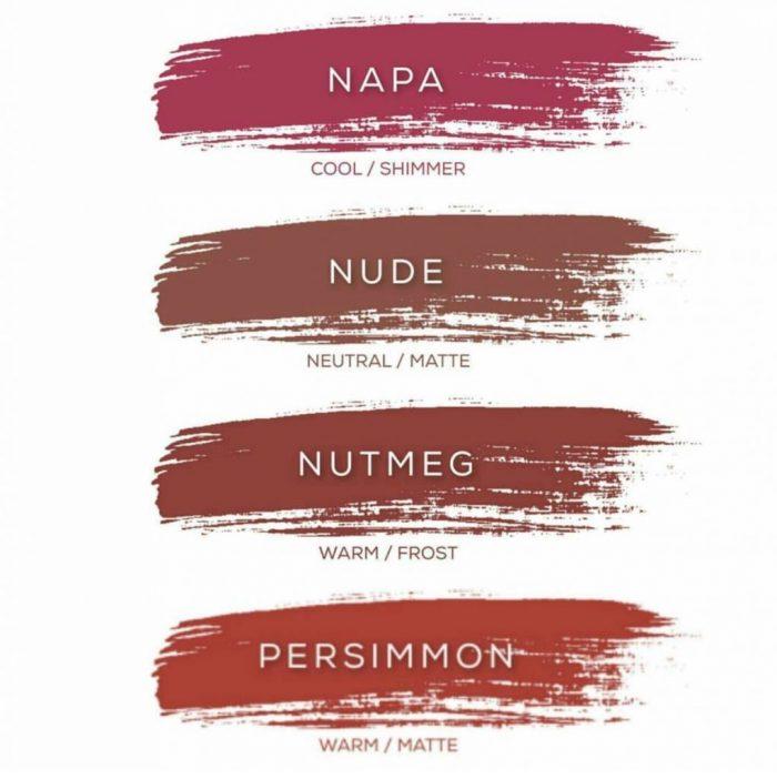 36 LipSense colors lineup | Grab the new 2017 LipSense colors, love the pretty LipSense color charts! Smudeproof, kissproof, sweatproof, lasts 4-18 hours! lollyjane.com