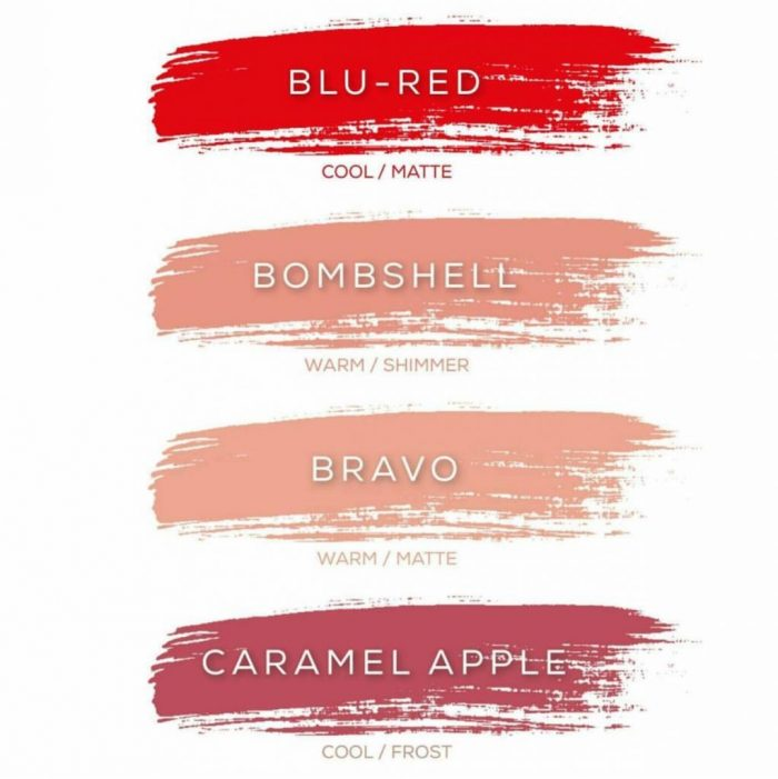 36 LipSense colors lineup | Grab the new 2017 LipSense colors, love the pretty LipSense color charts! Smudeproof, kissproof, sweatproof, lasts 4-18 hours! lollyjane.com