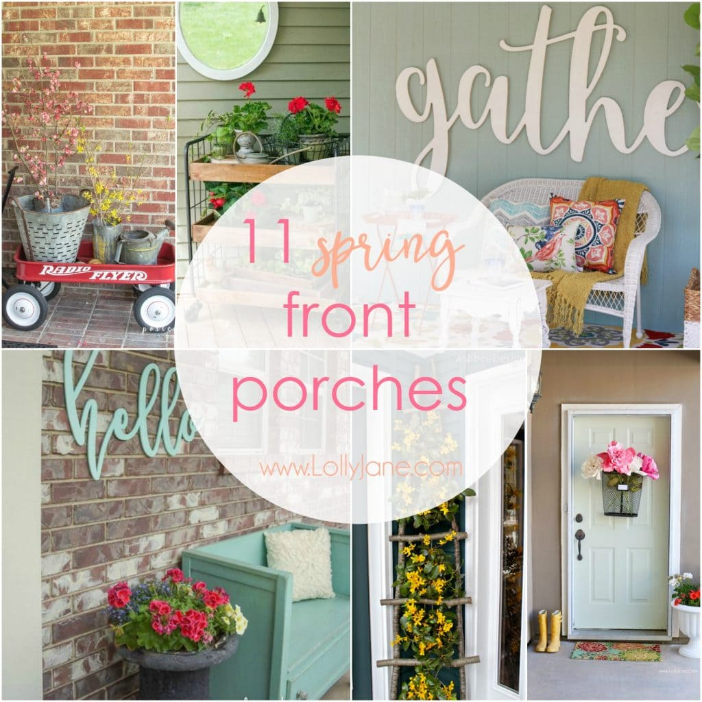 11 spring front porches